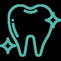 Профессиональная гигиена проводится в три этапа. 1 этап - снятие твердых зубных отложений ультразвуком, 2 этап - снятие окрашенного налета методикой AirFlow ,  3 этап - полировка зубов для гладкости и блеска . Мы используем обязательные защитные средства для пациентов: накидка, шапочка для волос, защитные очки.